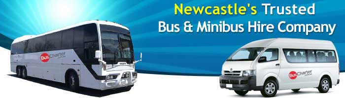 bus charter newcastle