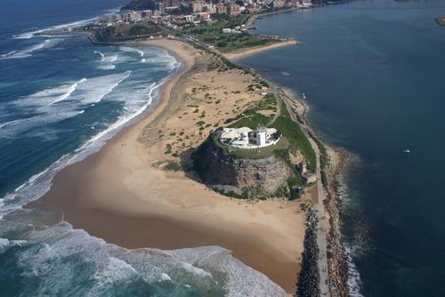 beach in Newcastle Australia