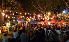 Street Market in Australia