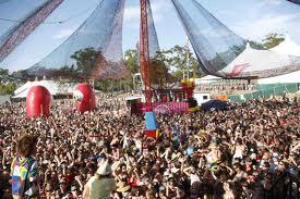 Music festival in Australia