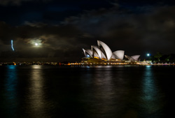 Sydney Attractions At Night