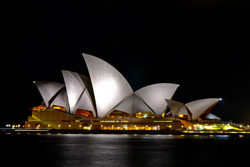 Seeing Sydney Harbour At Night