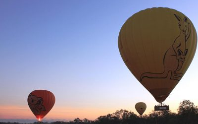 Hot Air Ballooning In Cairns Australia
