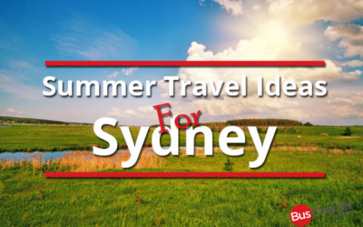 Summer Travel Ideas For Sydney