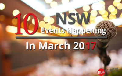 10 NSW Events Happening In March 2017