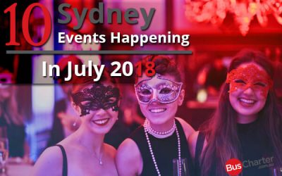 10 Upcoming Events In Sydney For July 2018