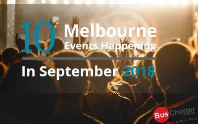 10 Melbourne Events Happening In October 2018
