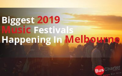 Biggest 2019 Music Festivals Happening in Melbourne