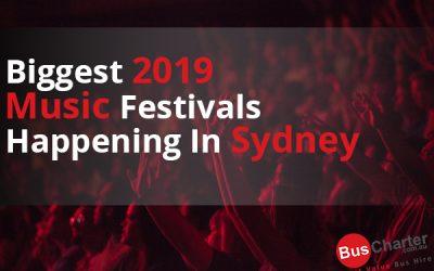 Biggest 2019 Music Festivals Happening In Sydney