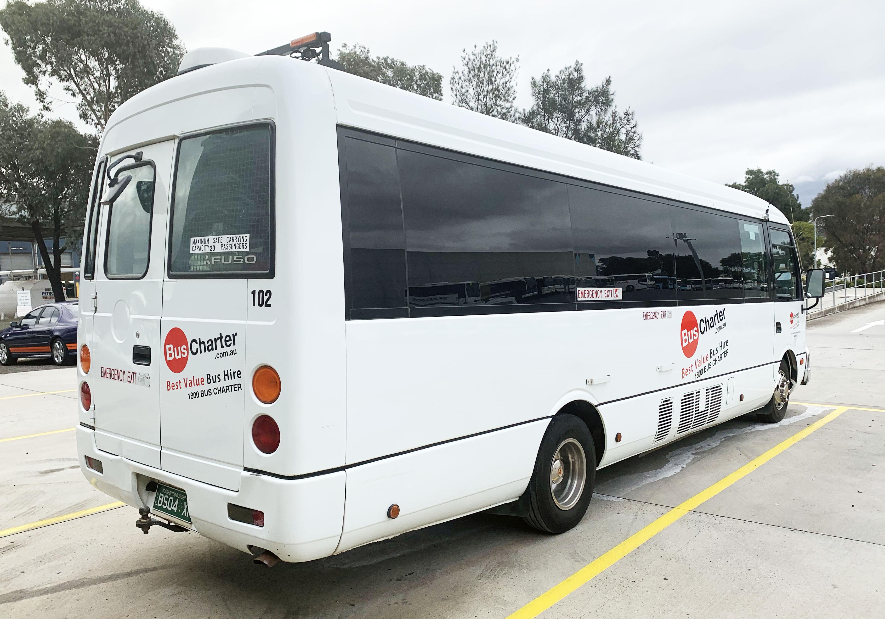 Fleet - Bus Charter